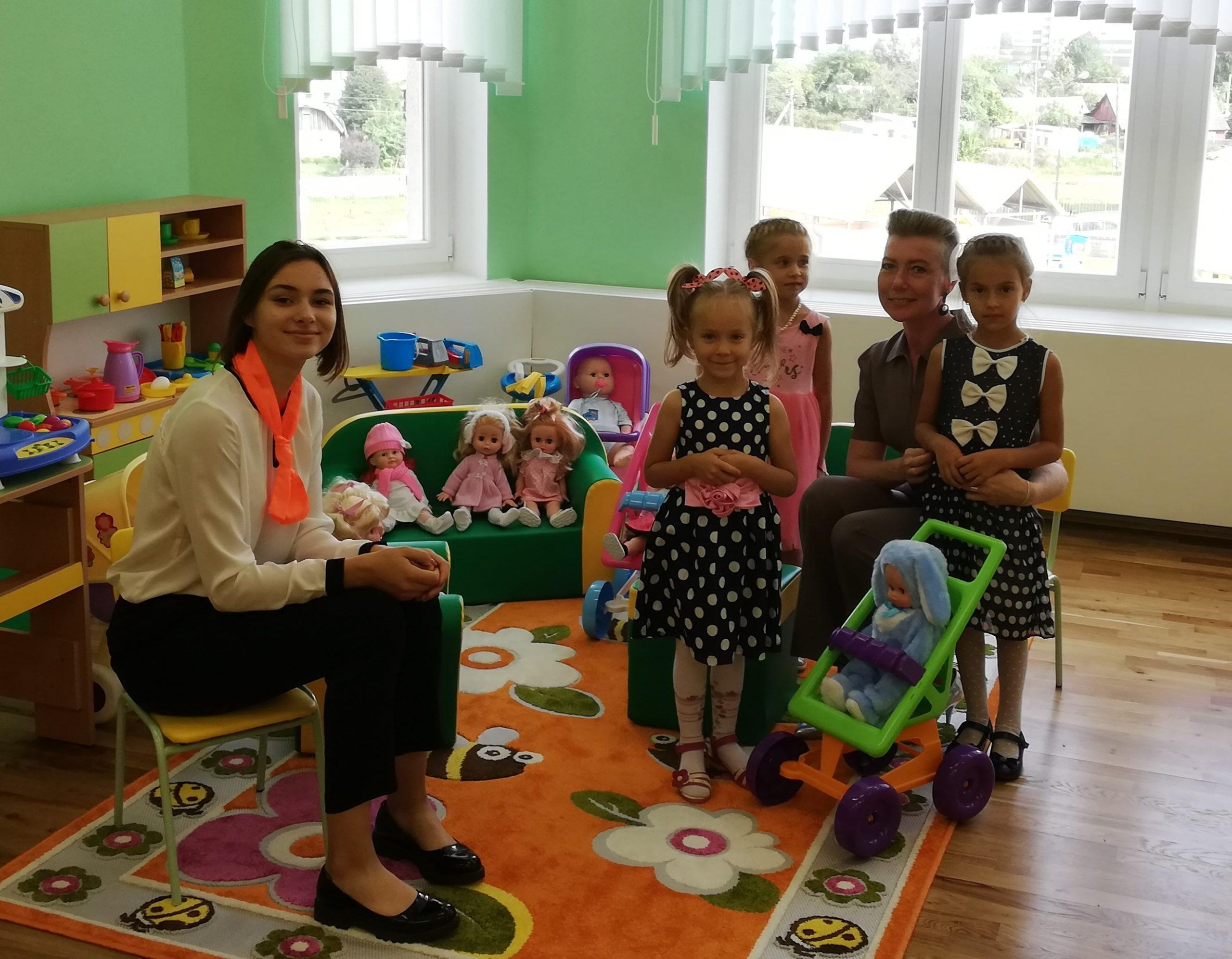 Педагогические классы гимназии №20 участвовали в открытии нового детского сада