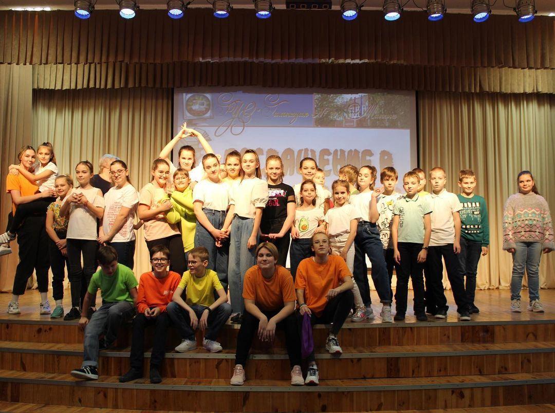 В гимназии №20 г.Минска состоялось посвящение в 5-классники