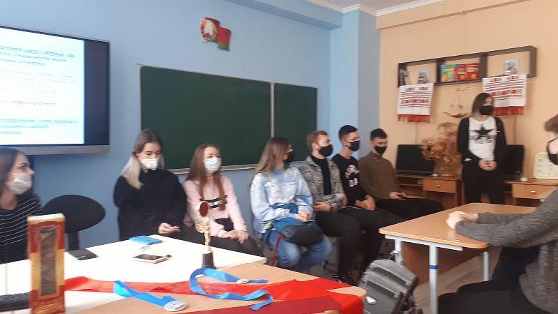 Встреча учащихся педагогической группы с выпускниками школы